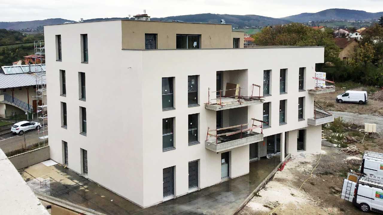 Le Clos d'Ambly à Lorette : programme immobilier en cours de réalisation
